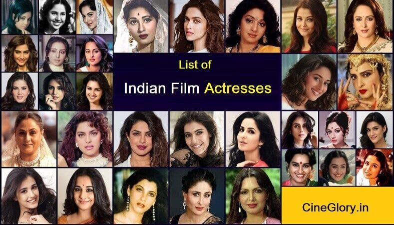 List of Indian Film Actresses