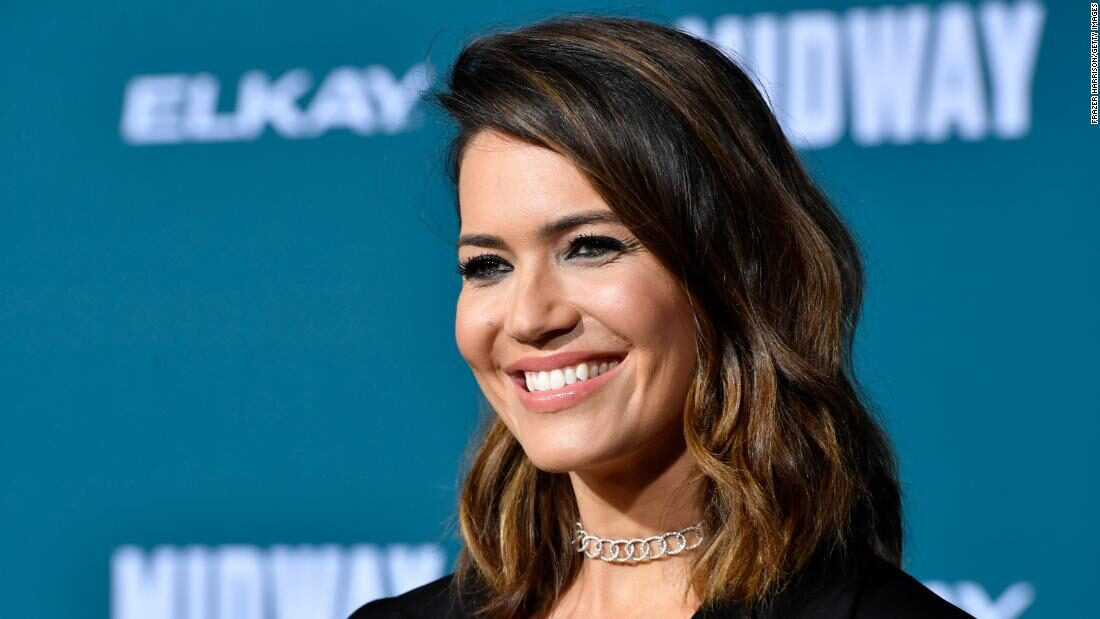 Mandy Moore welcomes baby boy